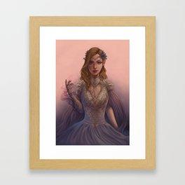 High Lady Feyre Framed Art Print