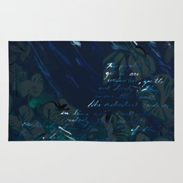 """""""Conquest of the Useless"""" by Werner Herzog Print (v. 6) Rug"""