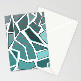NL 7 Chevron Mosaic Stationery Cards