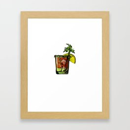 Drinking Rise and Shine Bloody Mary Framed Art Print