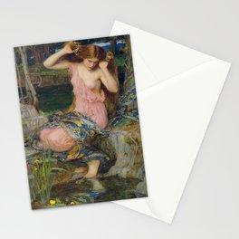 John William Waterhouse - Lamia 1909 Stationery Cards