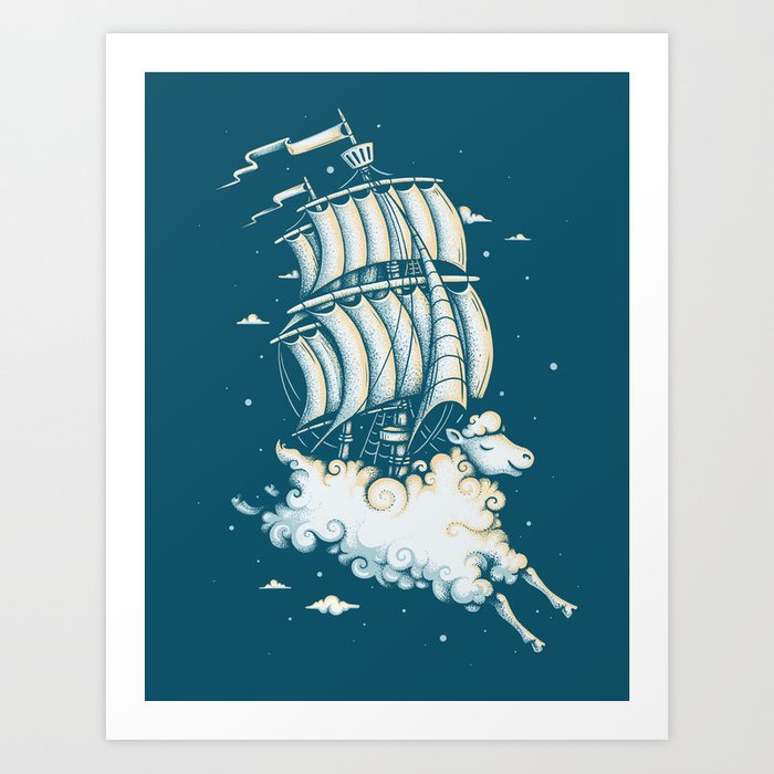 Shipped Away Art Print