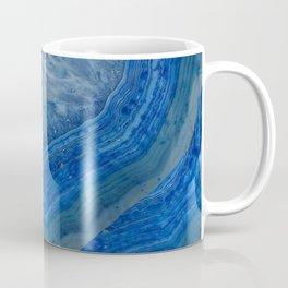 blue agate crystals Coffee Mug
