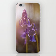 Bluebell Flowers iPhone Skin