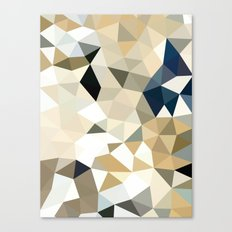 Neutral Tris Canvas Print
