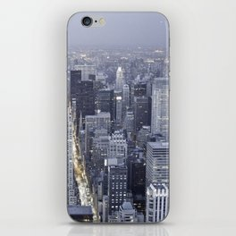 NYC from Empire State Building iPhone Skin