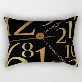 Live For The Moment Rectangular Pillow