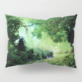 Magical Garden Path Green Pillow Sham