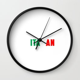 Im not yelling Im italian shirt Italian pride Wall Clock