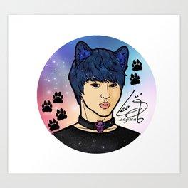 [VIXX] Catboy Leo Art Print