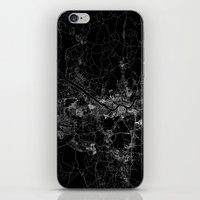 seoul iPhone & iPod Skins featuring Seoul by Line Line Lines