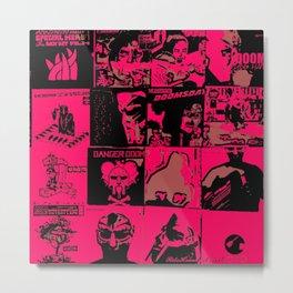 16 Nights Of MF DOOM - S6 Trending Hip Hop Art 2021 - MF Doom - Metal Fingers Art 2k Metal Print