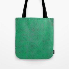 Geometric Greens Tote Bag