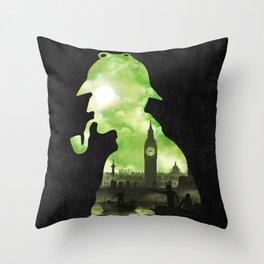 The Cursed Treasure Throw Pillow