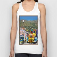 forever young Tank Tops featuring Forever Young by CrismanArt