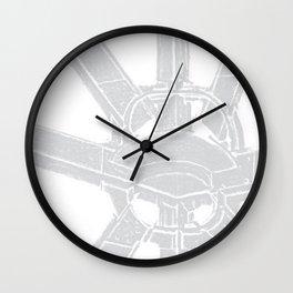 I beam Sculpture 3 Wall Clock