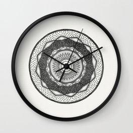 The Monocrome Eye Wall Clock