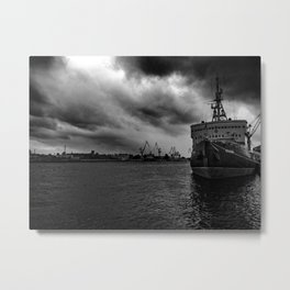 Before the Hurricane Metal Print