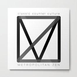 Classic Counter Culture Metal Print