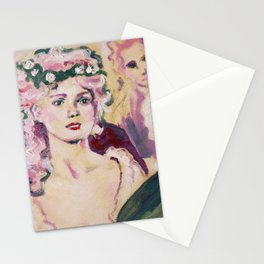 Marie at the Ball Stationery Cards