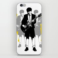 acdc iPhone & iPod Skins featuring Taking The Lead by Alan Hogan