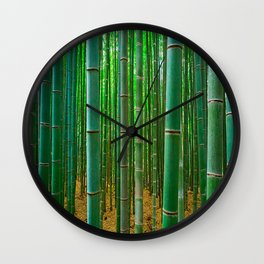 BAMBOO FOREST1 Wall Clock