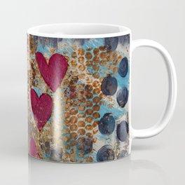 Love in Spots and Hearts Coffee Mug