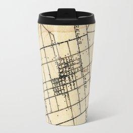 Vintage Map of Anaheim California (1894) Travel Mug