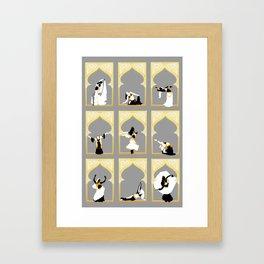 Snakecharmers Framed Art Print