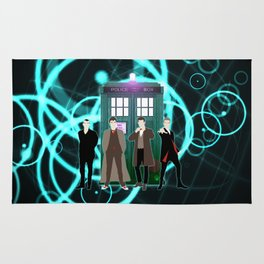Tardis Shine The Doctor Rug