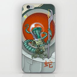 Astro Zodiac Force 06: Snake iPhone Skin