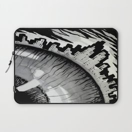 town and eyes Laptop Sleeve