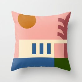 Thinking Back To The Holiday I Never Had .01 Throw Pillow