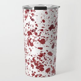 Blood Spatter Travel Mug