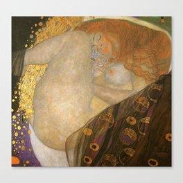 Danea Gustav Klimt Painting Canvas Print