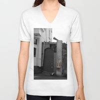 gumball V-neck T-shirts featuring Gumball Machine by Fine2art
