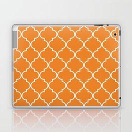 Quatrefoil - Apricot Laptop & iPad Skin