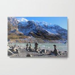 Cairns in New Zealand Metal Print
