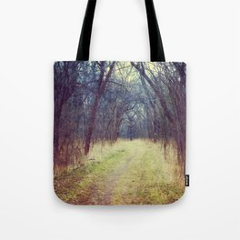 The Woods Are Lovely, Dark and Deep...  Tote Bag