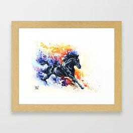 """""""He appears""""  Framed Art Print"""
