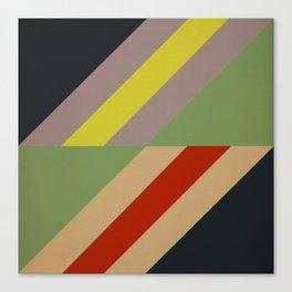 Modernist Geometric Graphic Art Canvas Print