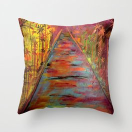 Queen Palm Throw Pillow