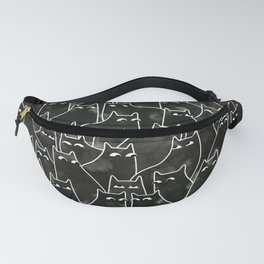 Suspicious Cats Fanny Pack