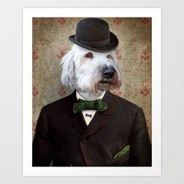 Sir Kansas - Wheaten Terrier Art Print