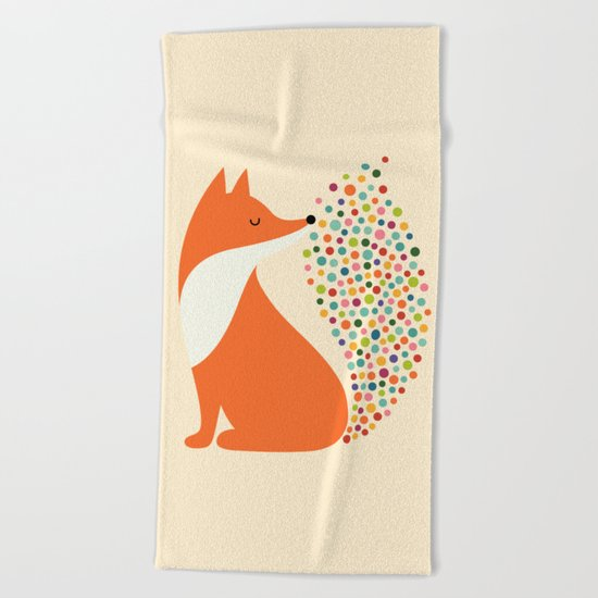 Little Fire Beach Towel