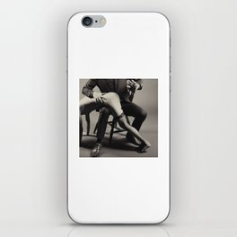Photograph Spanking Art - Nude woman spanked iPhone Skin