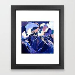 Tilt Shift - Single Line Framed Art Print