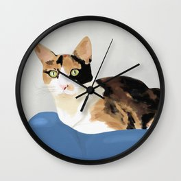 The Calico Cat Wall Clock