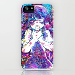 Asphyxiation Girl - Confined iPhone Case