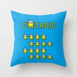 Catroid Throw Pillow
